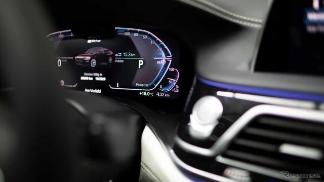 BMW 7シリーズ 改良新型のPHV、745Le