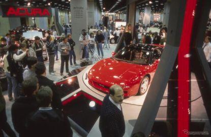 ホンダ NSX のデビュー30周年を祝う特別展示…シカゴモーターショー2019で予定