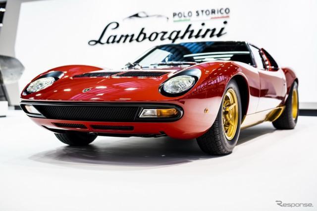 ランボルギーニ・ミウラのフルレストア車
