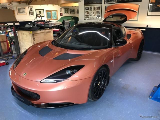 ロータス・エヴォーラ 414E ハイブリッド(画像:Lotus for sale.com)