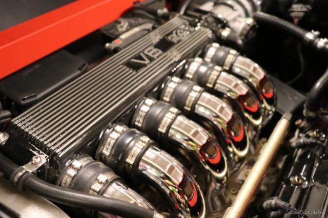 アルファロメオのエンジンを採用している。この日本第一号車は3リットルエンジンがチョイスされていた。《撮影 中込健太郎》