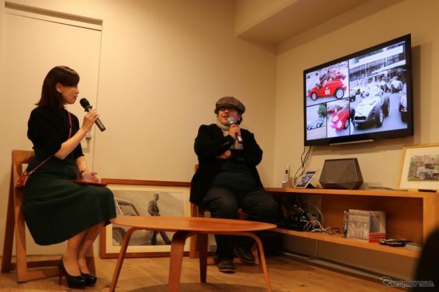 経験と豊富な知識をに裏打ちされた武田さんのトークはメディア関係者にとっても興味深いものだった。《撮影 中込健太郎》