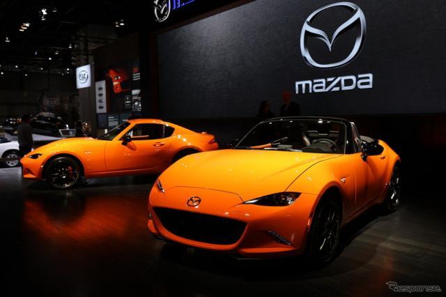 マツダ MX-5(ロードスター) 30周年記念車(シカゴモーターショー2019)《画像 マツダ》