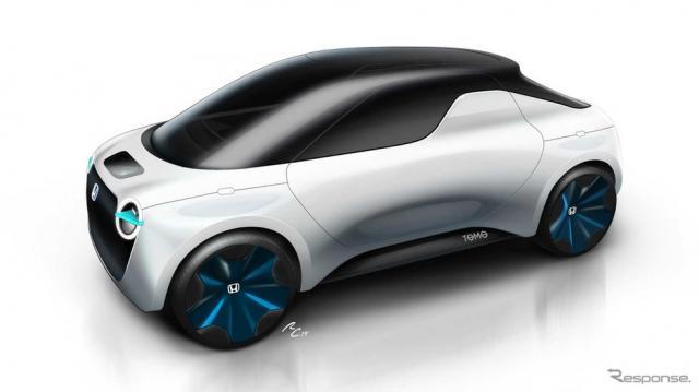 ホンダとIEDの2025年のEVコンセプトカー、TOMO