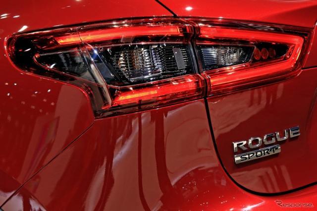 日産 ローグスポーツ の2020年モデル(シカゴモーターショー2019)
