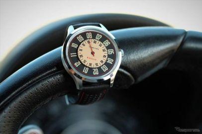 チンクエチェントの速度計をイメージ、回転ディスクウォッチ「ヴェローチェ」発売