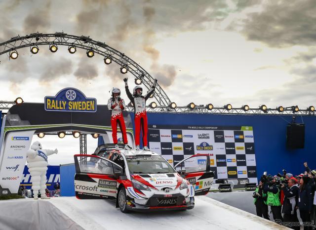 トヨタの#8 タナクが今季初優勝。《写真提供 TOYOTA》