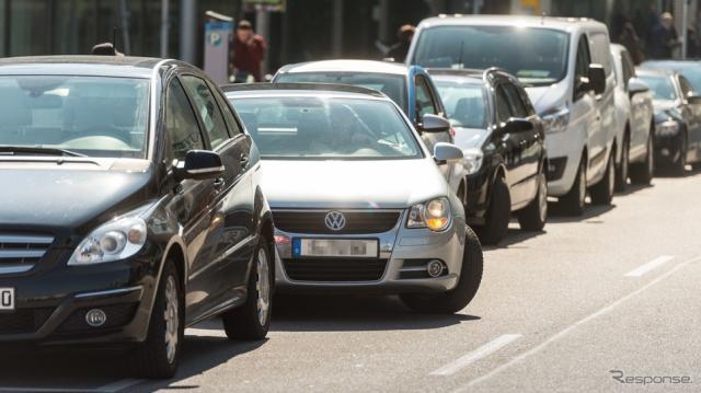 ボッシュの駐車支援システムのイメージ