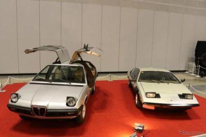 世界的にも奇跡! ミケロッティによる2台の試作車が肩を並べる…ノスタルジック2デイズ2019