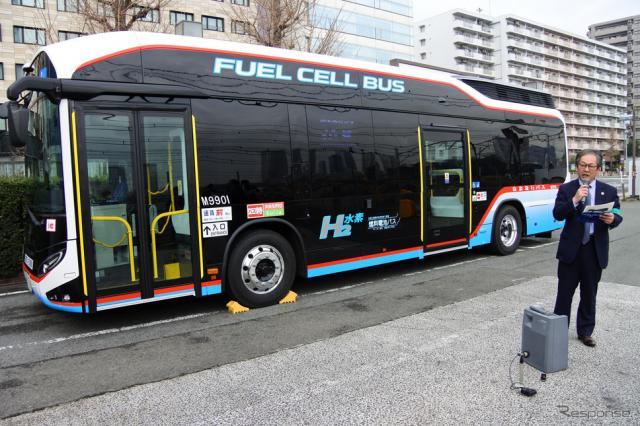 京浜急行バス SORA 説明会《撮影 小松哲也》