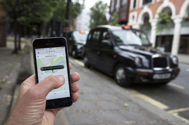 Uber(参考画像)《写真 Getty Images》