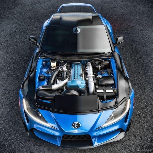 トヨタ スープラ 新型に「2JZ-GTE」を換装するCXレーシングのエンジン載せ替えキットのイメージ画像画像:CXレーシング