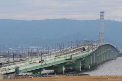 関空連絡橋、3月7日から4車線 完全復旧は4月上旬に前倒し