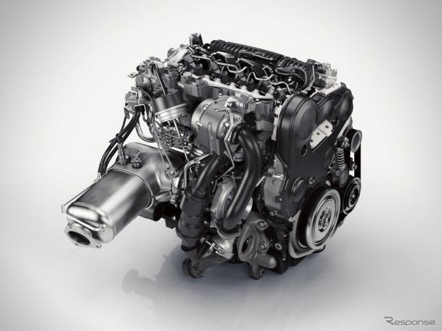 Drive-E 2.0リットル4気筒直噴ディーゼルターボ「D5」エンジン