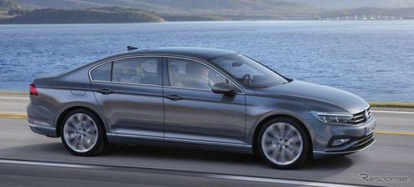 VW パサート 改良新型、最新デジタルコクピットに部分自動運転採用…ジュネーブモーターショー2019で発表予定