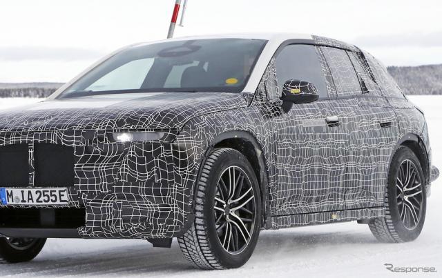 BMW iNEXT(i5)スクープ写真《APOLLO NEWS SERVICE》