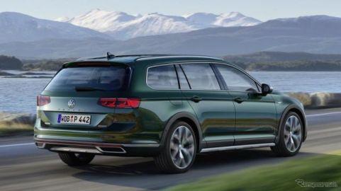 VW パサート ベース、SUVの オールトラック に改良新型…ジュネーブモーターショー2019で発表予定