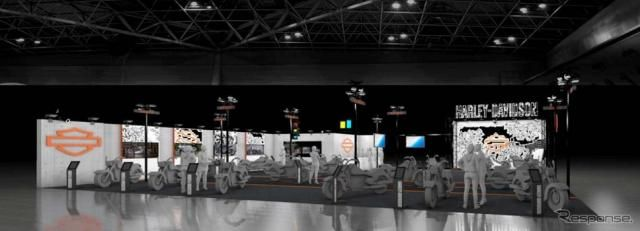 ハーレーダビッドソン、大阪および東京モーターサイクルショー2019に出展