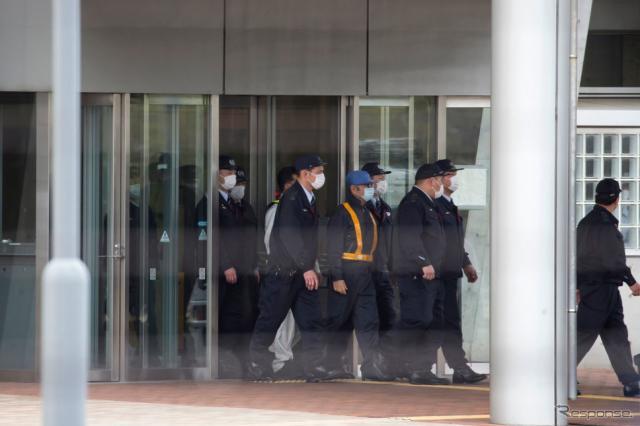 東京拘置所から保釈されたゴーン被告 (c) Getty Images