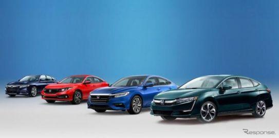 ホンダ、マツダを抜いて米国で最も平均燃費が優れる自動車メーカーに…1台当たり12.5km/リットル