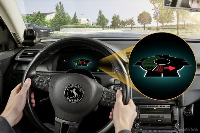 コンチネンタルの交差点などでの事故を減らす先進運転支援システム