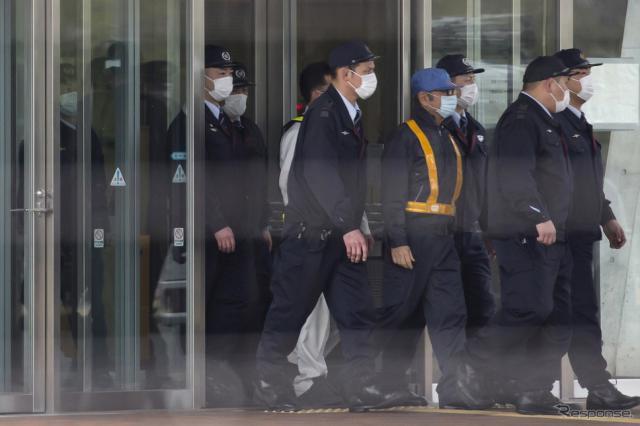 東京拘置所から保釈されたゴーン被告(3月6日) (c) Getty Images