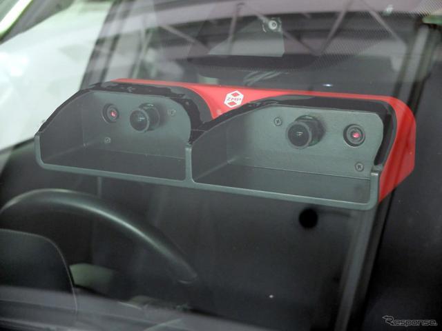 自動運転用4眼ステレオカメラ RoboVision 3