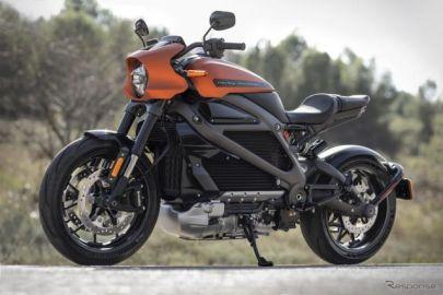 ハーレーの電動バイク「LiveWire」、充電方法・航続距離はどうなる…ジュネーブモーターショー2019
