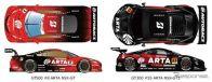 ARTA GT500&GT300