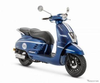 原付免許で乗れるプジョー登場、ネオレトロな「ジャンゴ」に50ccほか6モデル追加