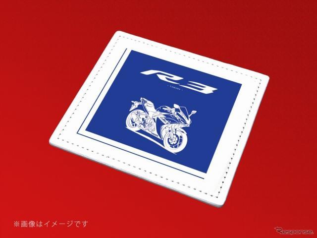 捺印マット YZF-R3