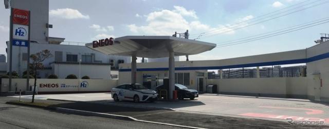 千葉市幕張に水素ステーション開所 都市ガス改質方式を初採用[訂正]