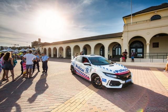 オーストラリア・ニューサウスウェールズ州警察に配備されたホンダ・シビック・タイプR