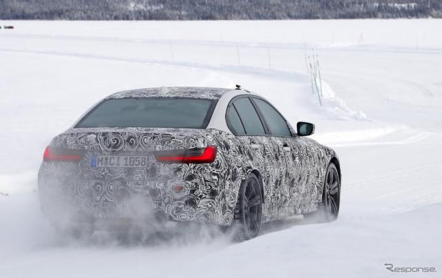 BMW M3 次期型 スクープ写真《APOLLO NEWS SERVICE》