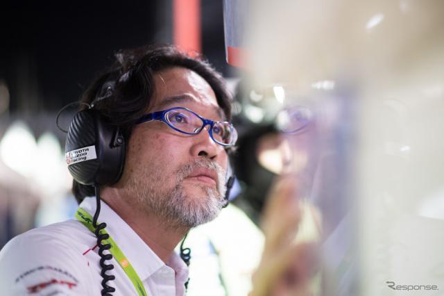 トヨタの村田久武チーム代表。《写真提供 TOYOTA》