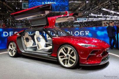 その名は「ダ・ヴィンチ」、イタルデザインのガルウィングEVクーペ…ジュネーブモーターショー2019