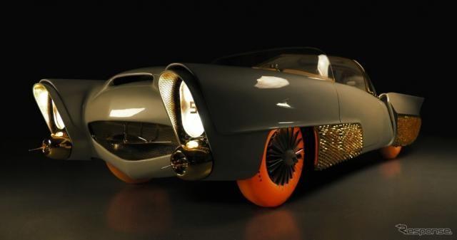 伝説のコンセプトカー『ゴールデンサハラ II』復元、発光するタイヤを装着…ジュネーブモーターショー2019