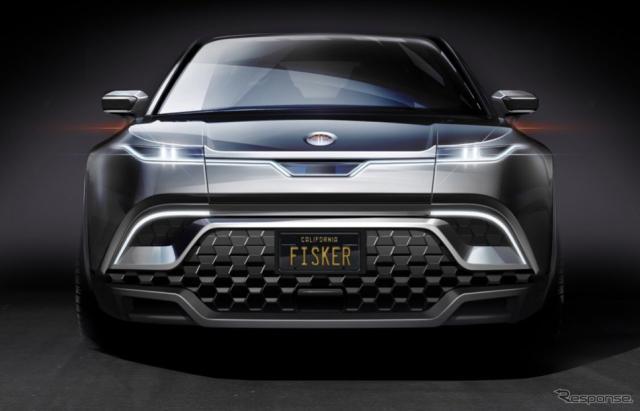 フィスカーの電動SUVのイメージスケッチ