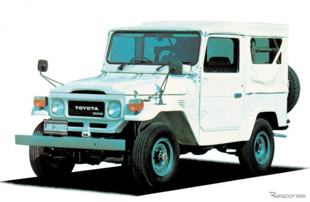 トヨタ・ランドルーザー40