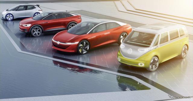 VWグループの次世代EV「ID.」ファミリー(参考画像)