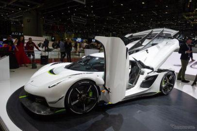 ケーニグセグの1600馬力『ジェスコ』、発表から5日で完売…ジュネーブモーターショー2019