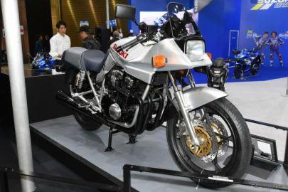 スズキ カタナ 初代、GSX1100S も展示…東京モーターサイクルショー2019[詳細画像]