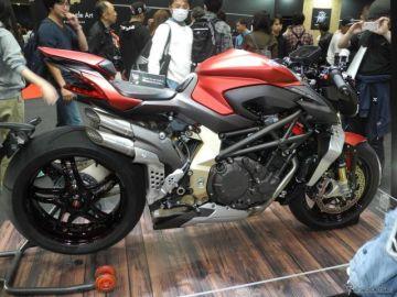 MVアグスタの目玉商品は550万円の ブルターレ、閉幕後にはイタリアへ…東京モーターサイクルショー2019