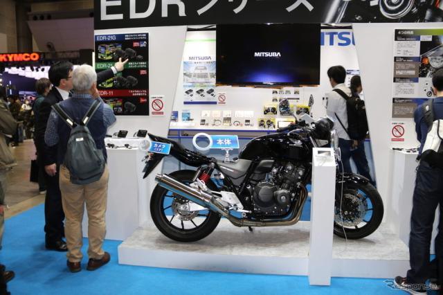 ミツバサンコーワブース(東京モーターサイクルショー2019)《撮影 先川知香》