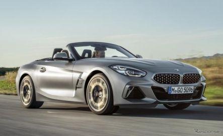 BMW Z4 新型発売、縦型ヘッドライトなど新デザイン採用 566万円より
