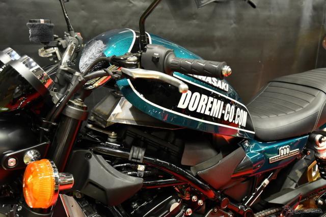 ドレミコレクション「Z900RS」用新作パーツ(東京モーターサイクルショー2019)《撮影 青木タカオ》