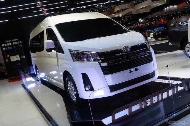 トヨタ・ハイエース新型(バンコクモーターショー2019)《工藤貴宏》