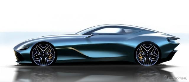 アストンマーティン DBS GT Zagato のレンダリングイメージ