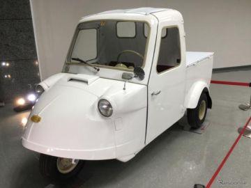 ダイハツが「軽自動車の進化」を展示、ミゼット から ハイゼット まで