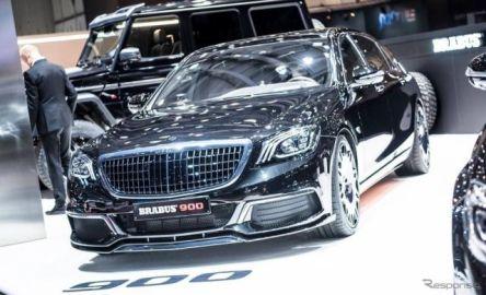 ブラバス、V12のメルセデスマイバッハ Sクラス を900馬力に…ジュネーブモーターショー2019